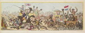 Джеймс Гилрей. Карикатура «К выборам». XVIII в.