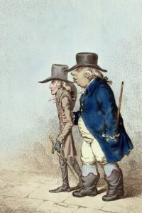 Джеймс Гилрей. Политическая карикатура. 1797 г.