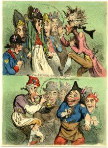 Джеймс Гилрей. Карикатура. 1791 г.